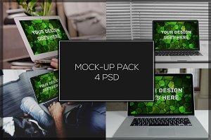 MacBook Mock-up Pack#10