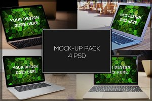 MacBook Mock-up Pack#9