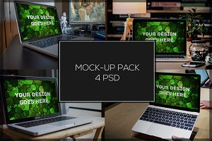 MacBook Mock-up Pack#8