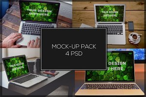 MacBook Mock-up Pack#7