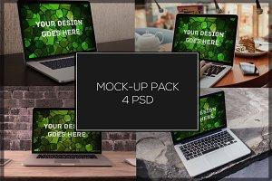 MacBook Mock-up Pack#5