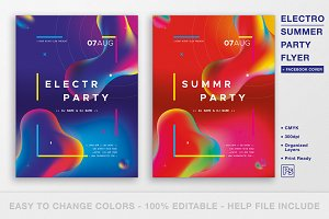 Electro - Summer Party Flyer