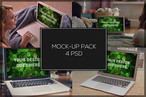 MacBook Mock-up Pack#4