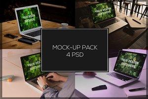 MacBook Mock-up Pack#3