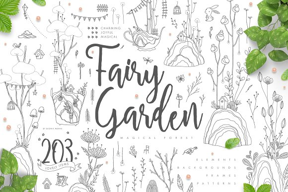 Fairy Garden Magical Forest