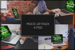 MacBook Mock-up Pack#2