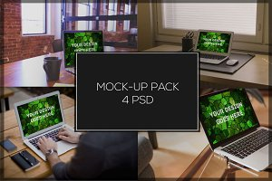 MacBook Mock-up Pack#1