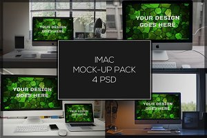 iMac Mock-up Pack#6