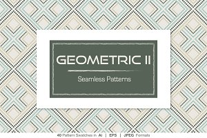 40 Geometric Seamless Patterns