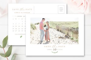 Calendar Save the Date Template