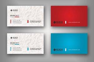 B5 Business Card