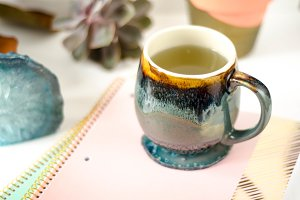 Pastel Mug Setup