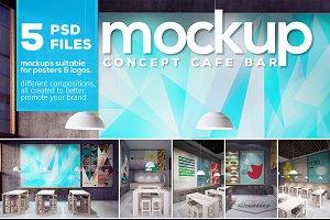 Poster & Logo Mockup vol.1