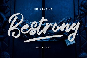 Bestrong - Brush Font