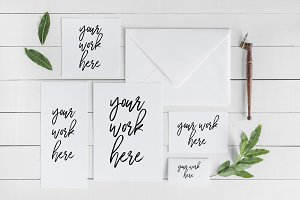 Wedding Invitation Suite Mockup