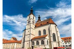 Neupfarrkirche Church in Regensburg, Germany