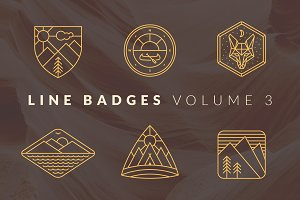 Line Badges - Volume 3
