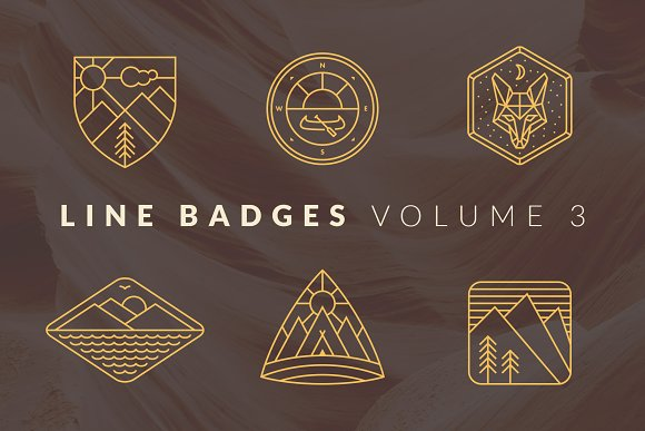 Line Badges Volume 3