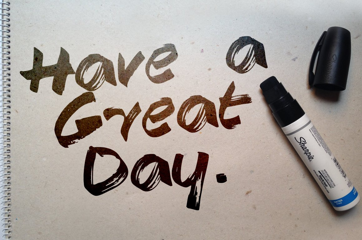 Have A Great Day Fonts Creative Market
