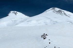Elbrus in winter