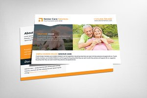 Ealdry Care Postcard Template