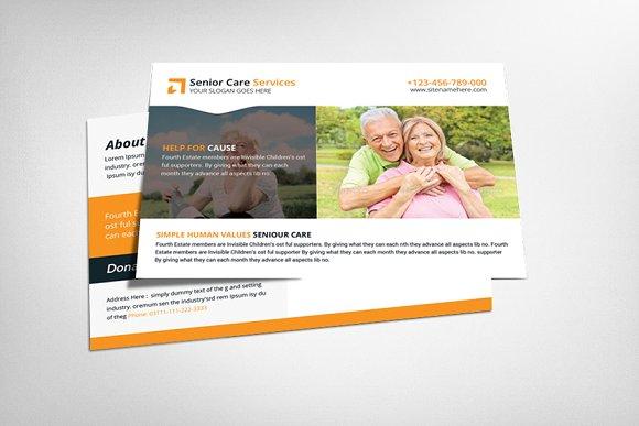 Ealdry Care Postcard Template