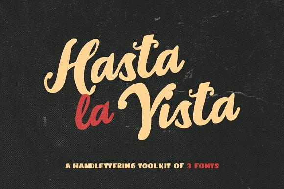 Hasta La Vista Font Trio
