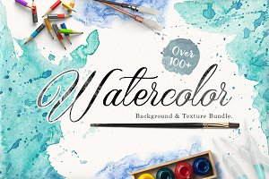 Watercolor Background & Textures