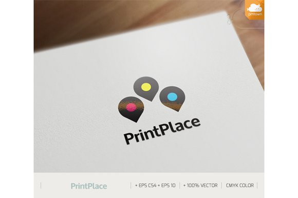 Print Place in Logo Templates