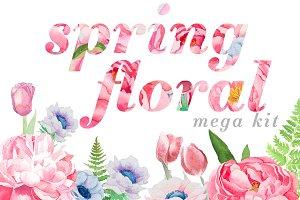 Spring Florals Kit