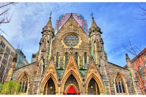 Christ Church Cathedral in Montreal, Canada