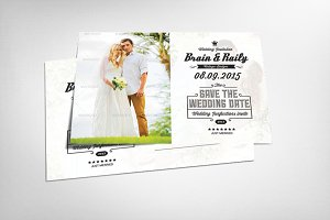Invitation Postcard Template