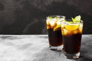 Cocktail Cuba Libre