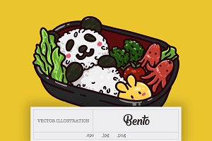 Bento Illustration