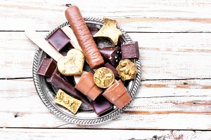 Chocolate delicious candy