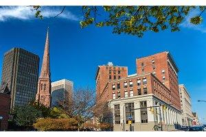 Buildings in downtown Buffalo - NY, USA