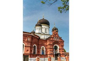 The Church of the Theotokos of Tikhvin in Noginsk - Moscow Region, Russia