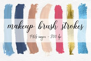 Hand Painted Brush Strokes Clip Art