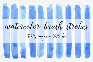 Watercolour Brush Stroke