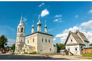 Our Lady of Smolensk Church in Suzdal, Russia