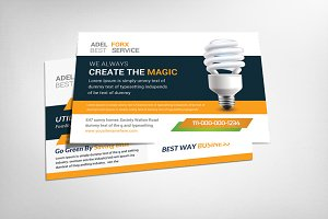 Utility Energy  Postcard