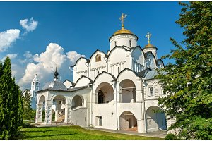 Cathedral of the Intercession of the Theotokos in Suzdal, Russia
