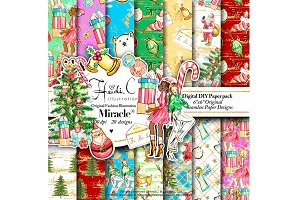 Christmas Miracle Paper Pack