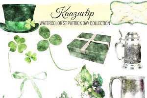 Watercolor St Patrick's Day