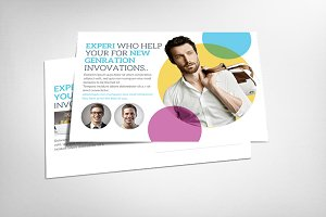 Agency Corporate Business Postcard