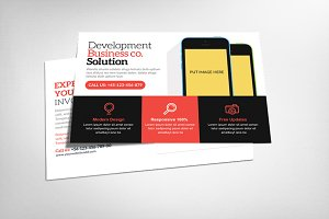 Multiuse Corporate Postcard Template