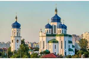 Cathedral of the Holy Trinity in Troieshchyna - Kiev, Ukraine