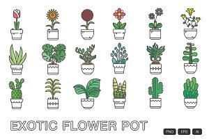 18 Flower Pot