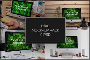 iMac Mock-up Pack#5
