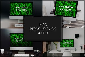 iMac Mock-up Pack#3